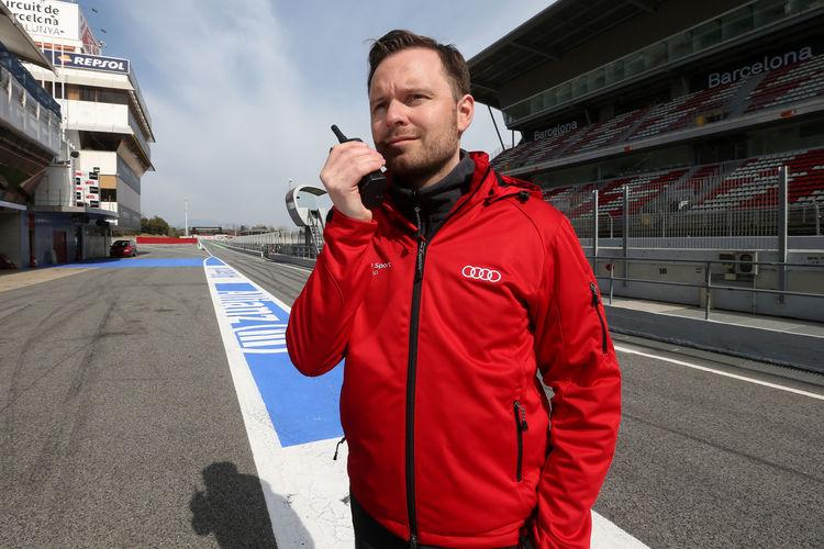 Audi Sport TT Cup Test Barcelona