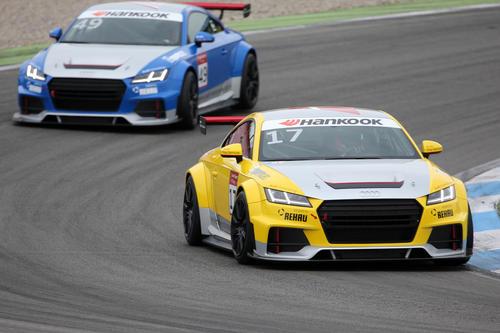Audi Sport TT Cup Test Hockenheim