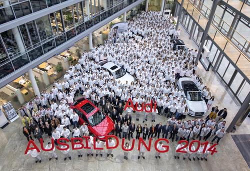 Audi-Familie wächst: 724 neue Azubis