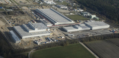 Audi expands Ingolstadt plant with a new production facility in Münchsmünster