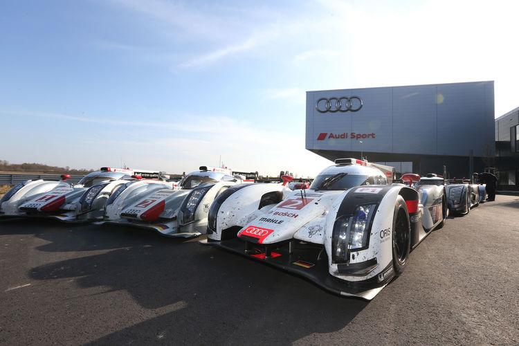 Audi Sport Warm-up Neuburg 2015
