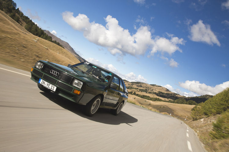 Audi Land of quattro Alpen Tour 2013
