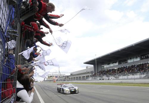 Neuer Audi R8 LMS gewinnt die 24 Stunden auf dem Nürburgring