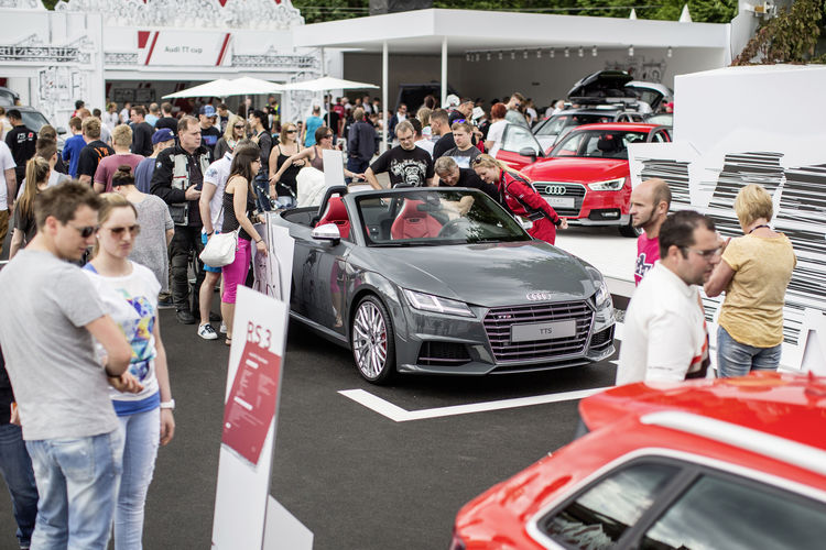 Audi at the 2015 Wörthersee