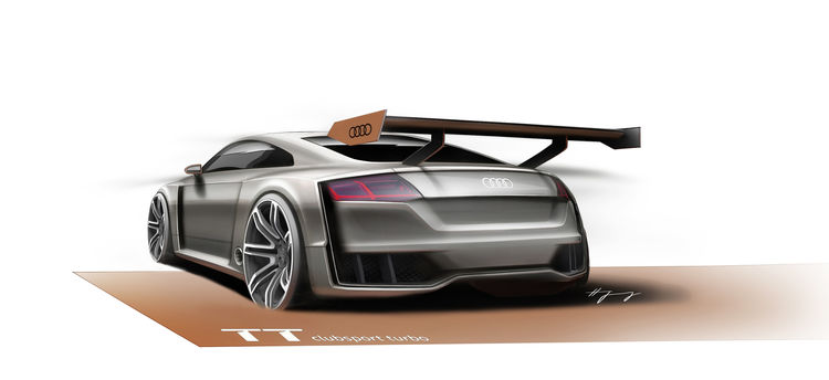 Audi TT clubsport turbo concept