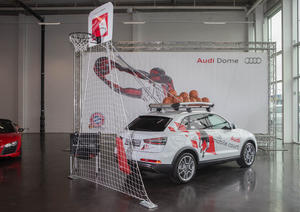 """""""Audi mobile court"""" celebrates premiere"""