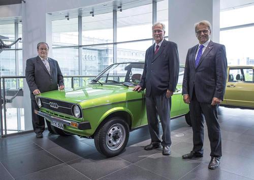 Dreimal 50 Jahre bei Audi