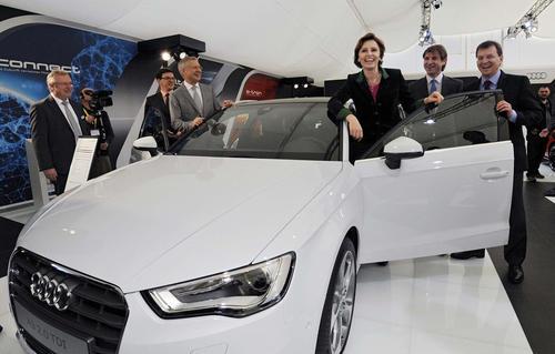 """Heimspiel für Audi auf der """"miba"""""""