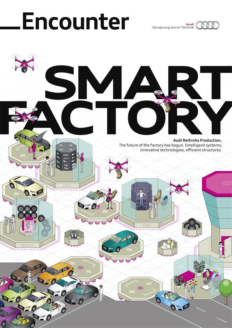 Encounter magazine Smart Factory