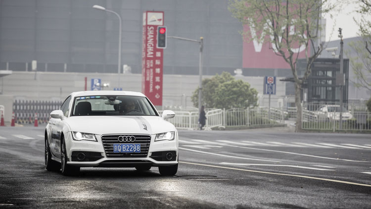 Audi A7 Sportback piloted driving