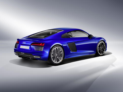 Audi R8 e-tron piloted driving