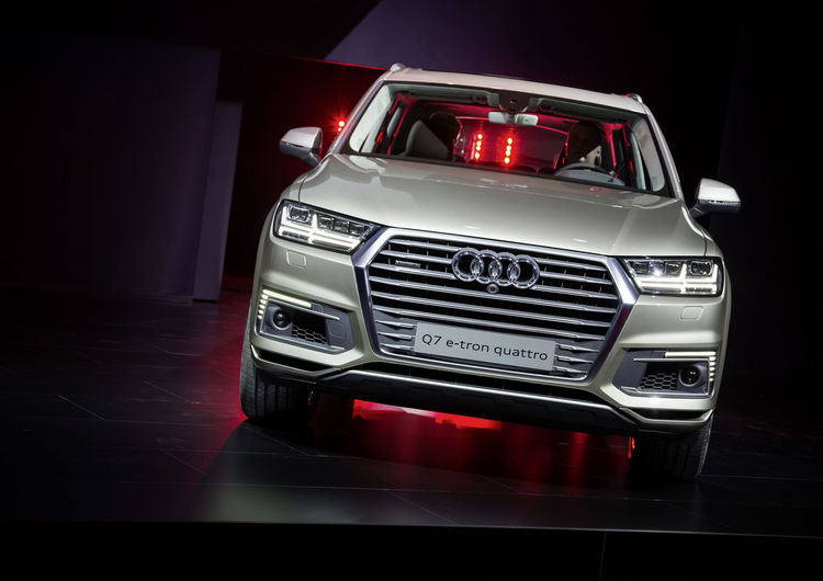 Audi at CES Asia 2015 in Shanghai