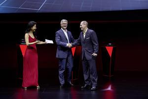 Audi bei der CES Asia 2015 in Shanghai