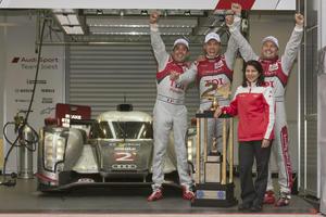 Le Mans victory 2011