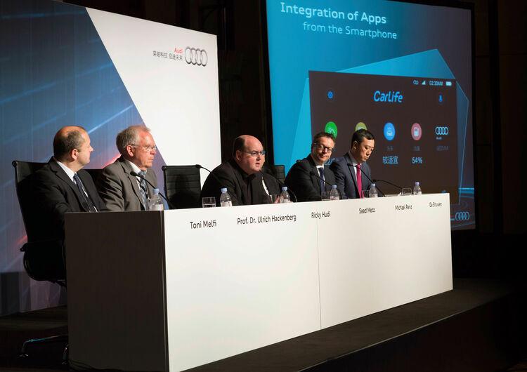 Audi Tech-Talk, CES Asia 2015 in Shanghai