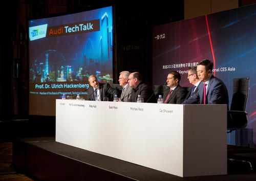 Audi Tech Talk, CES Asia 2015 in Shanghai