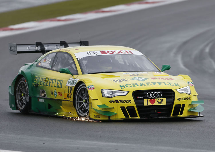 Audi driver Mike Rockenfeller keeps cool