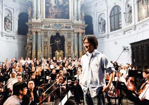 Kent Nagano und die Audi Jugendchorakademie