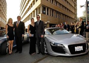 """""""Iron Man"""": Spektakulärer Auftritt für Audi R8"""