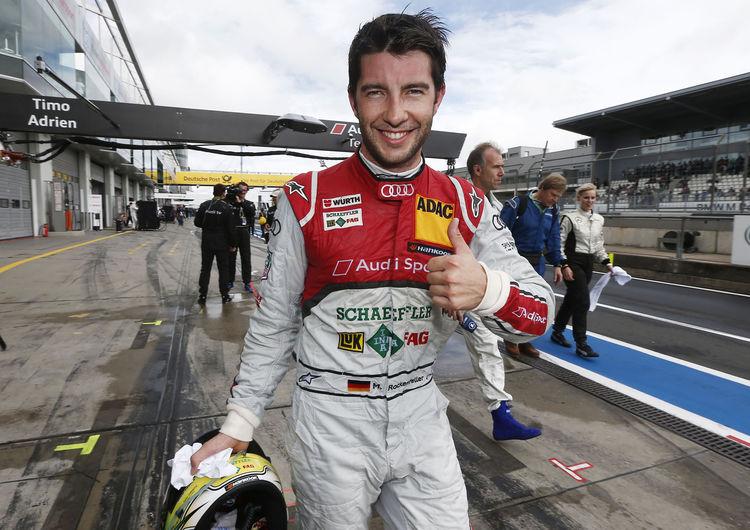 Audi-Pilot Mike Rockenfeller bleibt cool