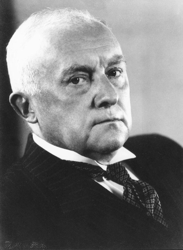 DKW-Gründer Jörgen Skafte Rasmussen (1878 - 1964)