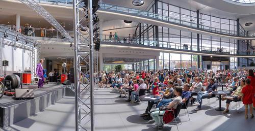 Sportliche Einblicke: Erlebnistag im  Audi Forum Neckarsulm