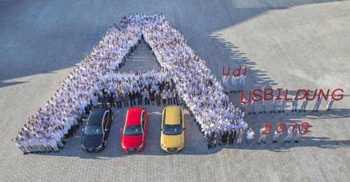 Startklar für Karriere bei Audi