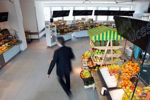 Das Marktrestaurant im Audi Forum Ingolstadt