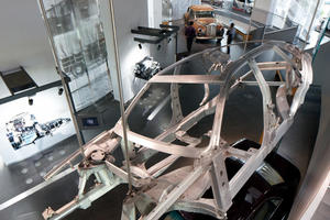 Das Audi museum mobile