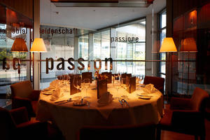 Das fine-dining-Restaurant AVUS am Audi Forum Ingolstadt