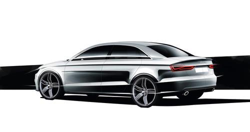 Audi A3 Sedan design sketch