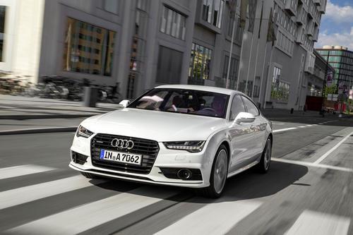 Audi A7 Sportback, Fahraufnahme