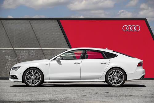 Audi A7 Sportback, Standaufnahme