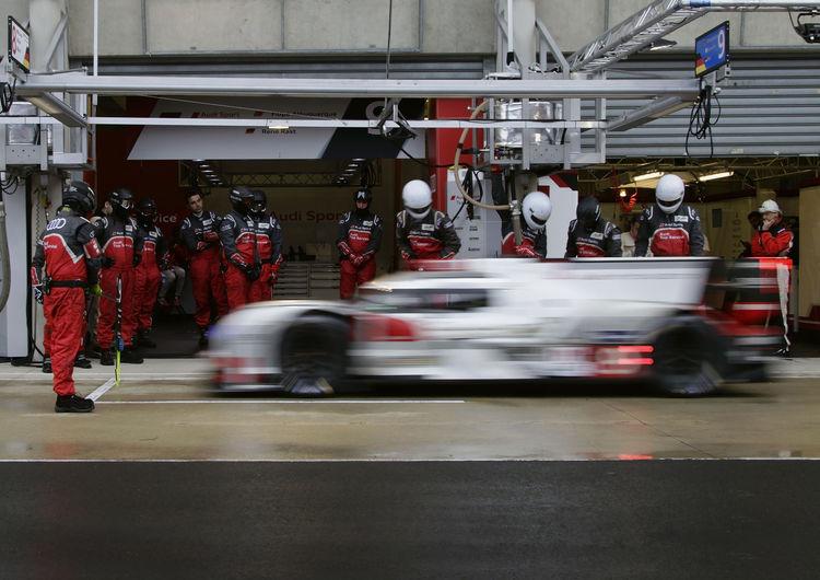 Le Mans Testtag 2015
