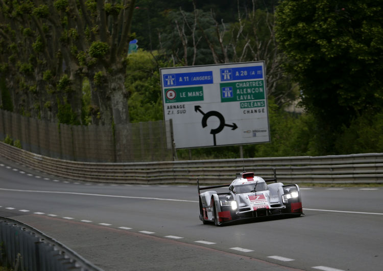 Le Mans Test Day 2015