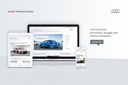 New Audi MediaCenter is now online