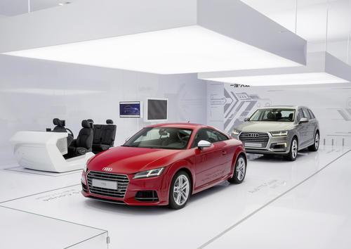 Audi at CES Asia 2015 in Shanghai
