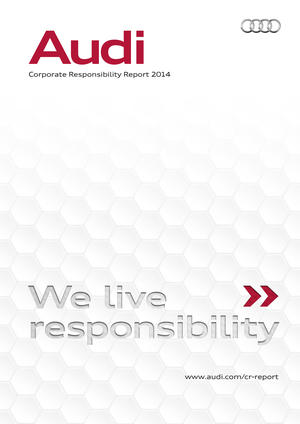 Audi publishes new Corporate Responsibility Report