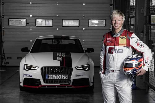 Audi race driver Nicki Thiim