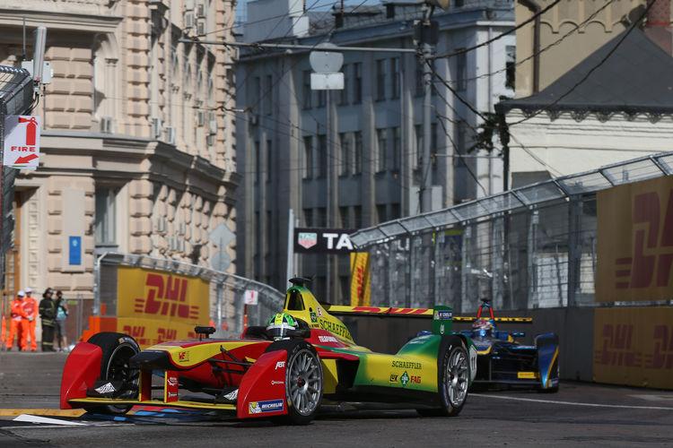 FIA Formel E Moskau 2015