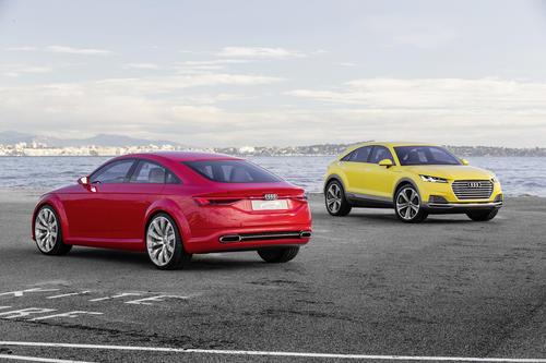 Audi TT Sporback concept, Audi TT offroad concept