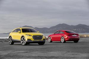Audi TT offroad concept, Audi TT Sportback concept