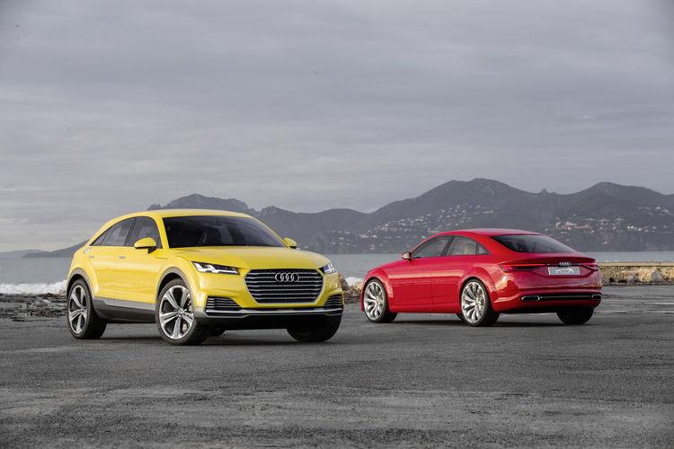 Audi TT offroad concept, Audi TT Sporback concept