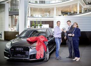Zweimillionster Besucher im Audi Forum Neckarsulm
