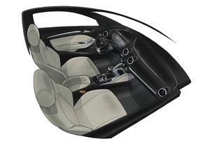 Audi A3 design sketch
