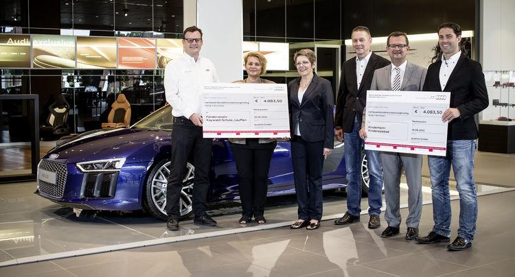quattro GmbH spendet für Kinder