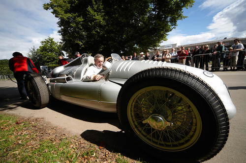 Audi Tradition with classic vehicles in Goodwood