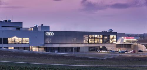 R8 production at Audi Böllinger Höfe near the Neckarsulm site