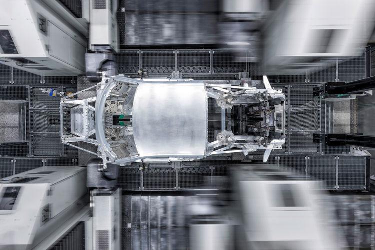 R8 Manufaktur quattro GmbH in den Audi Böllinger Höfen am Standort Neckarsulm.