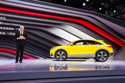 Audi at the Auto China 2014 in Beijing